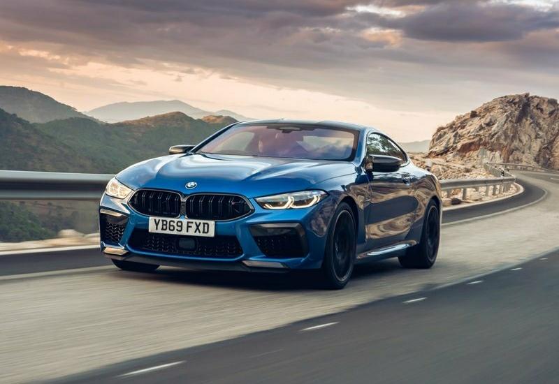 2020 BMW M8 Competition Coupe- ön gürünüm