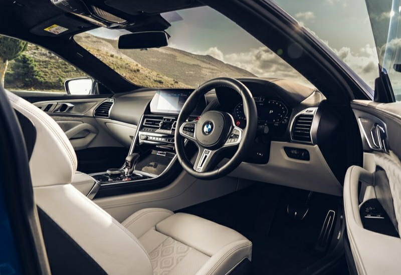 2020 BMW M8 Competition Coupe-dashboard