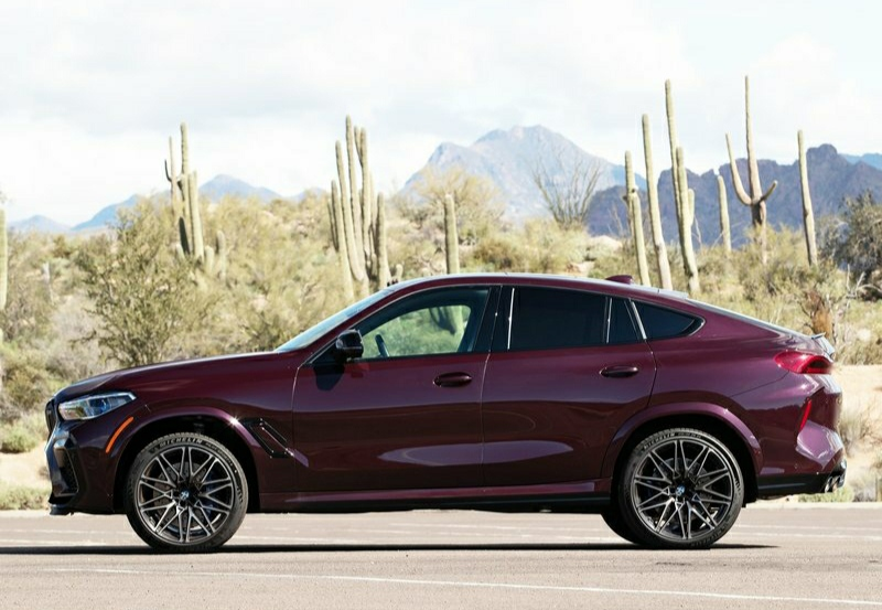 2021 BMW X6 M competition