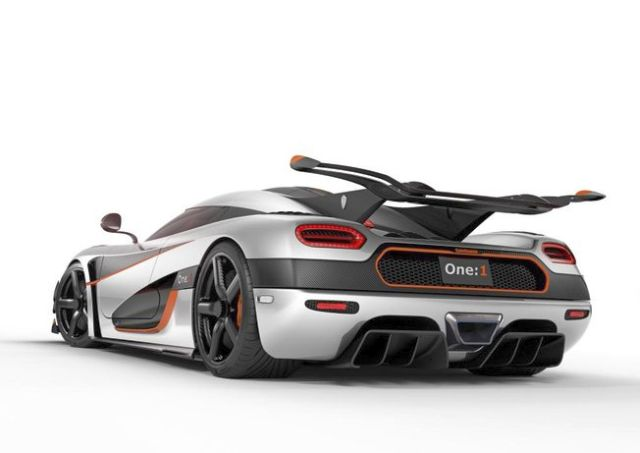 KOENIGSEGG ONE - rear view