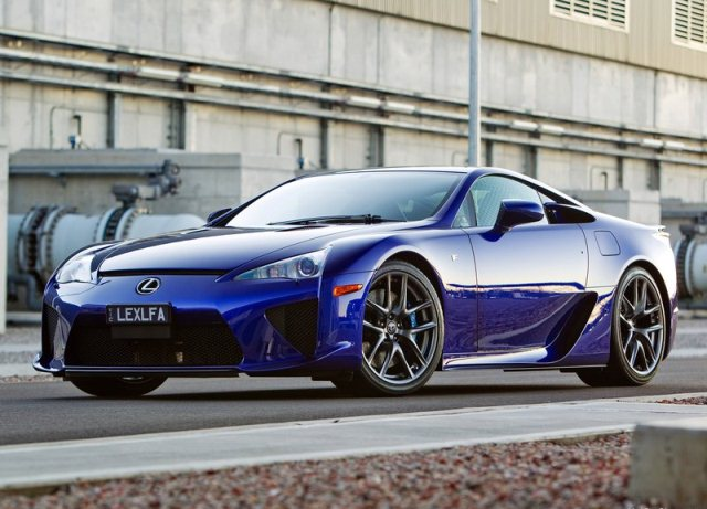 2013 LEXUS LFA front