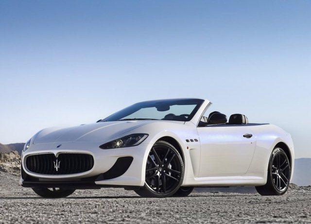 Cabrio Maserati Grancabrio white