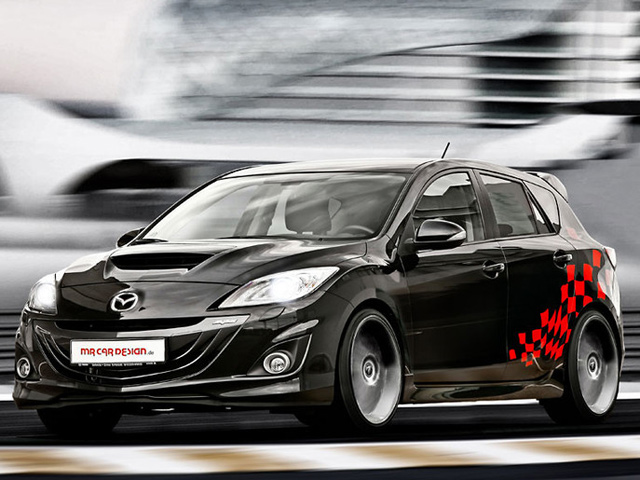 MAZDA 3 tuned by MR