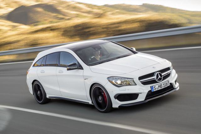 2016 MERCEDES CLA 45AMG Shooting Brake""
