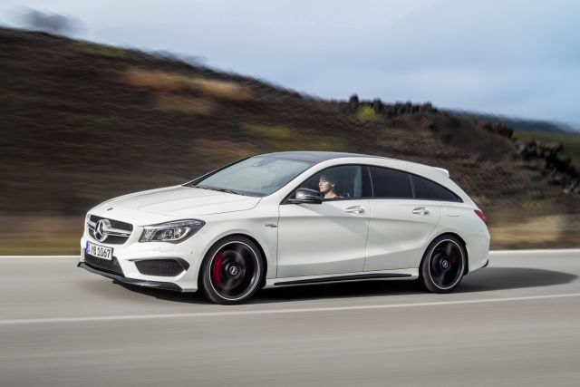 2016 MERCEDES CLA 45AMG Shooting Brake