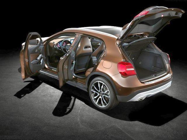 Mercedes GLA Crossover 2015