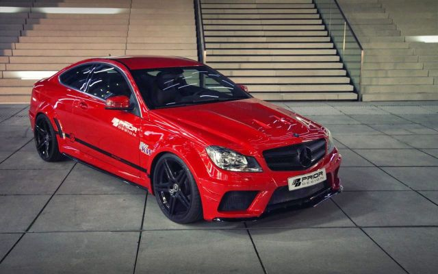 MERCEDES C-CLASS COUPE tuned by PRIOR DESIGN