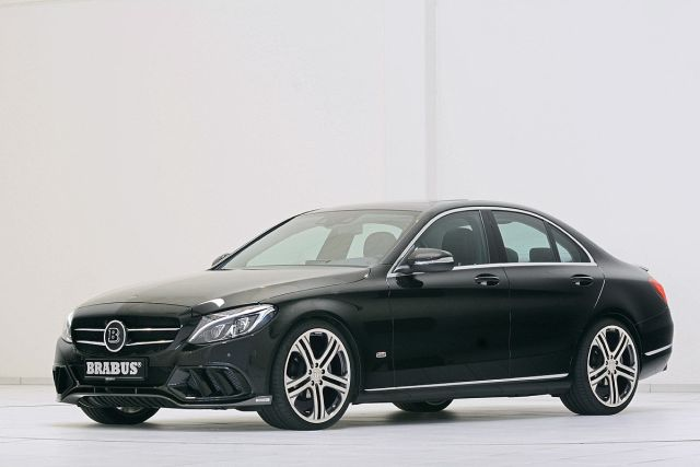 2015 MERCEDES C CLASS tuned by BRABUS