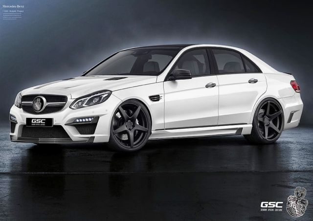 MERCEDES E-CLASS tuned by GERMAN SPECIAL CUSTOMS