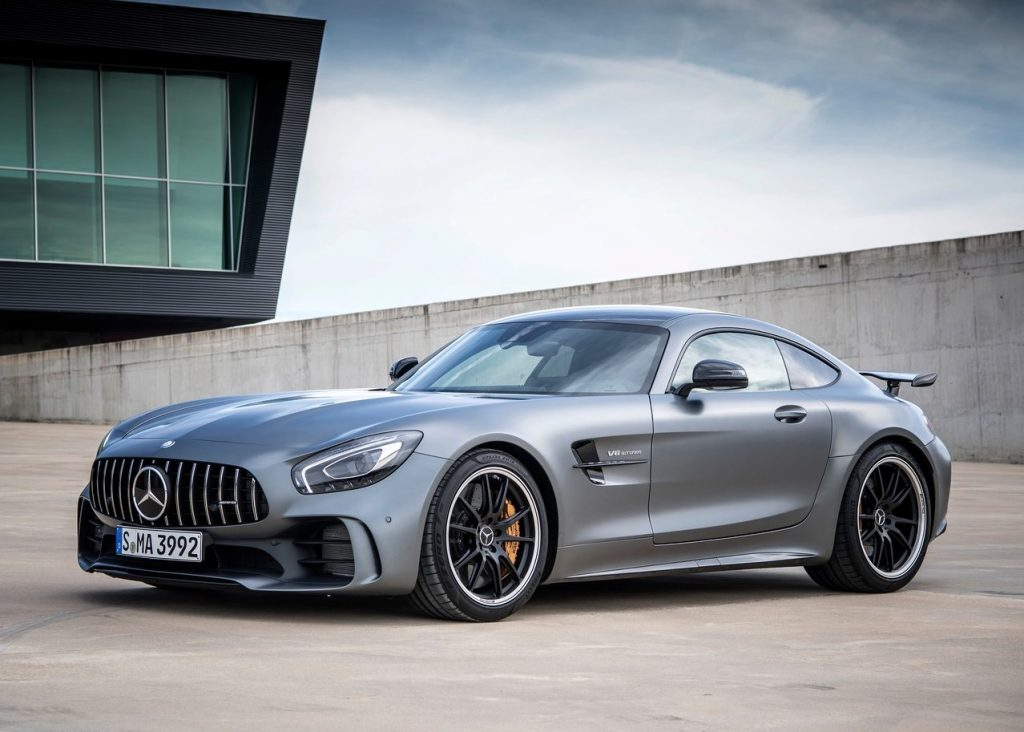 mercedes benz amg gt r matte black oopscars. Black Bedroom Furniture Sets. Home Design Ideas