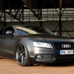 AUDI A5 COUPE MATTE BLACK