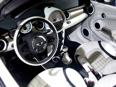 Mini Roadster steeringwheel