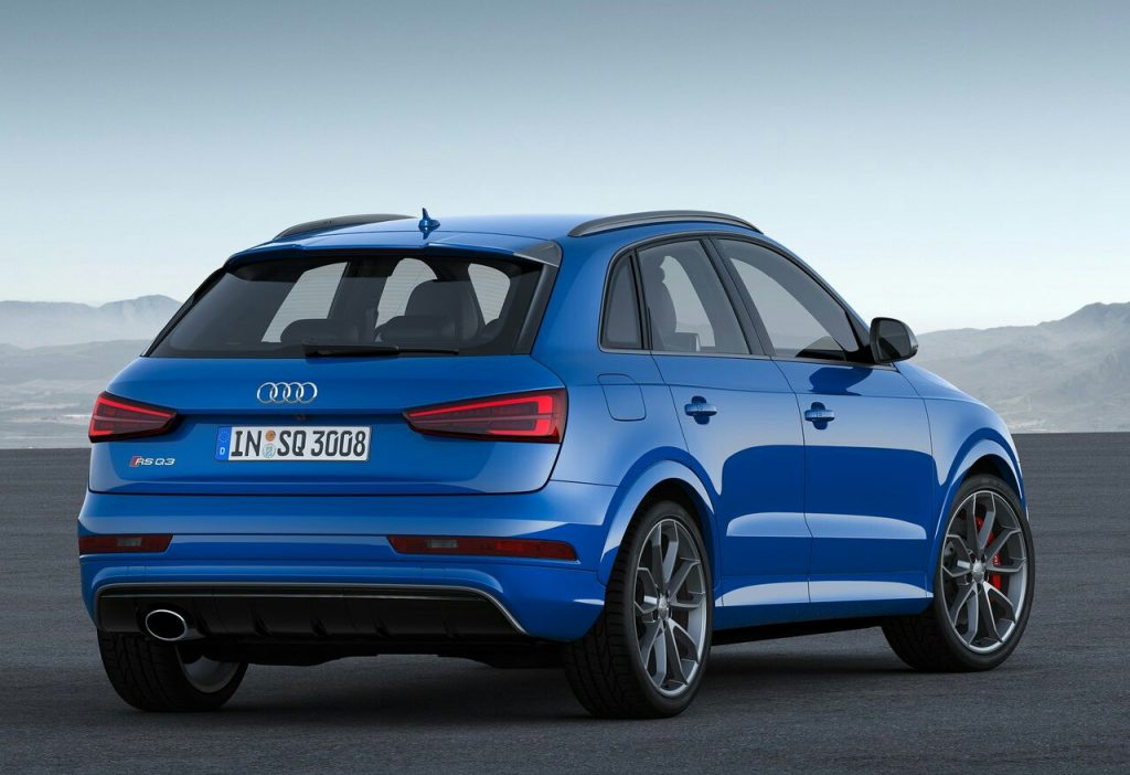 2017 AUDI RSQ3 | OopsCars