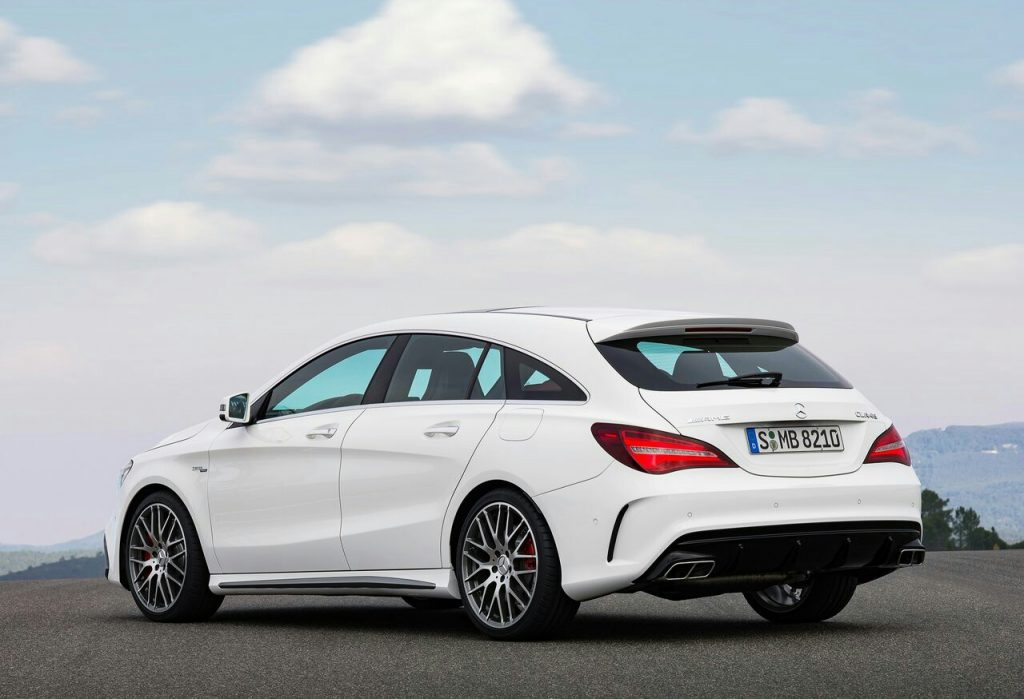 2017 MERCEDES CLA45 AMG SHOOTING BRAKE