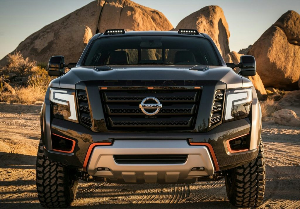 2016 NISSAN TITAN WARRIOR