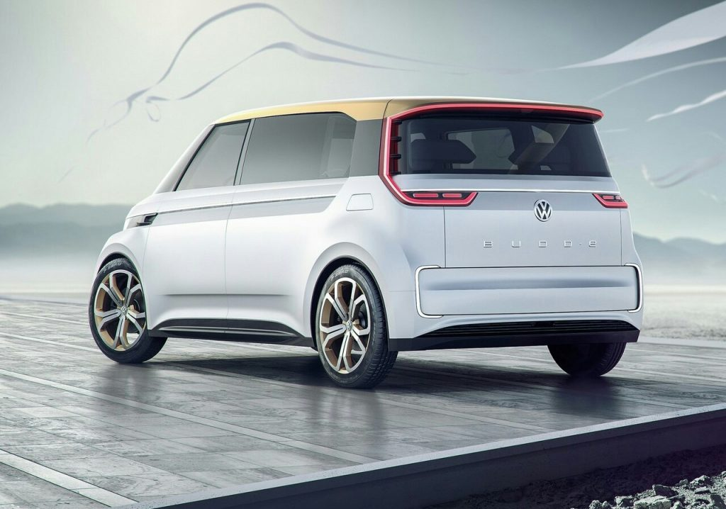 VW BUDD-E Concept|Oopscars