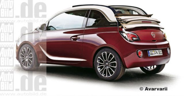 2014 opel adam cabrio. Black Bedroom Furniture Sets. Home Design Ideas