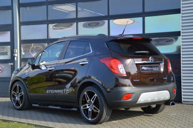 opel mokka tuned by steinmetz. Black Bedroom Furniture Sets. Home Design Ideas