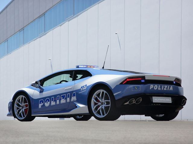 POLICE CAR LAMBORGINI HURACAN Polizia