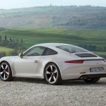PORSCHE 911 50 Years Edition rear pic 2 150x150 2014 PORSCHE 911 GT3 White & Red