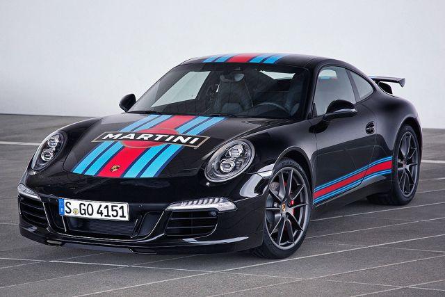 PORSCHE 911 CARRERA S MARTINI RACING