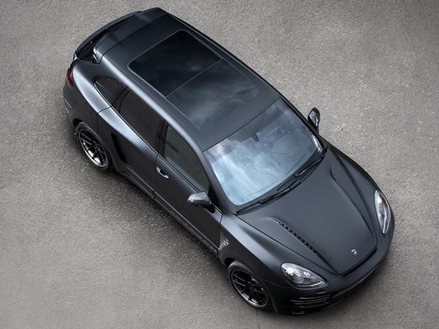 CAYENNE TUNING-Topcar Tuned Vantage GTR2