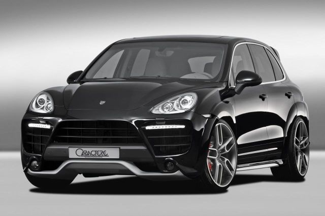 PORSCHE CAYENNE tuned by CARACTERE EXCLUSIVE
