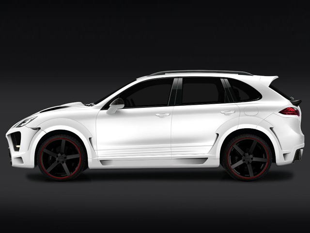 PORSCHE CAYENNE tuned by ONYX Concept