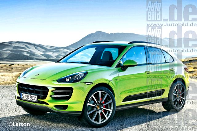 porsche concept mini suv macan crossover. Black Bedroom Furniture Sets. Home Design Ideas