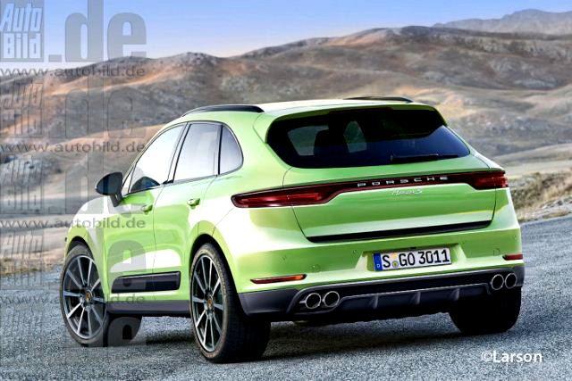 Porsche Concept Mini Suv Macan Crossover