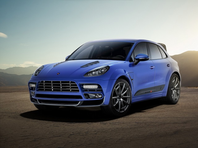 PORSCHE MACAN tuned by MANSORY