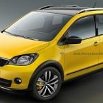 SKODA Cossover Citigo Scout yellow front view 150x150 OPEL MINI SUV MOKKA   OPEL CROSSOVER MOKKA