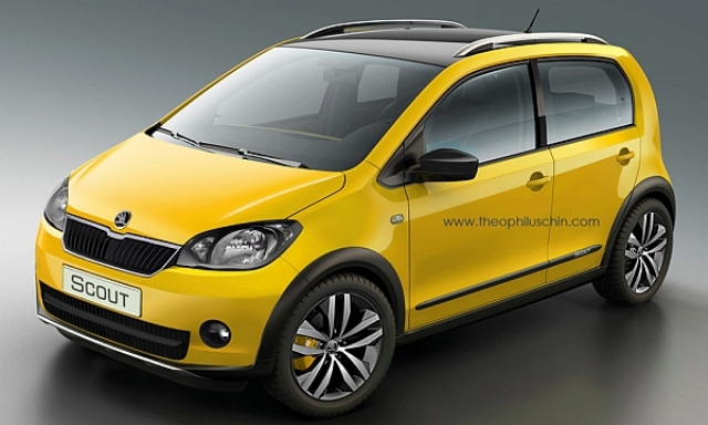 SKODA mini suv Citigo Scout