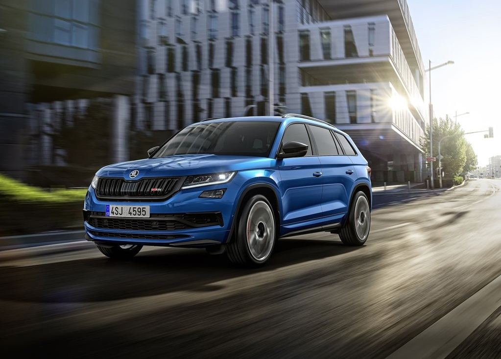 Skoda Kodiaq Business >> SKODA KODIAK RS