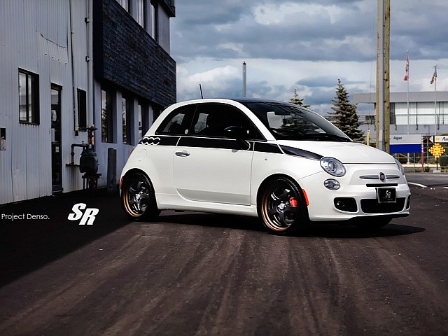 FIAT 500 tuned by SR AUTO