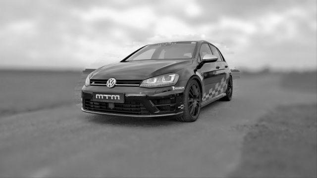 VW GOLF 7-R tuned by MTM