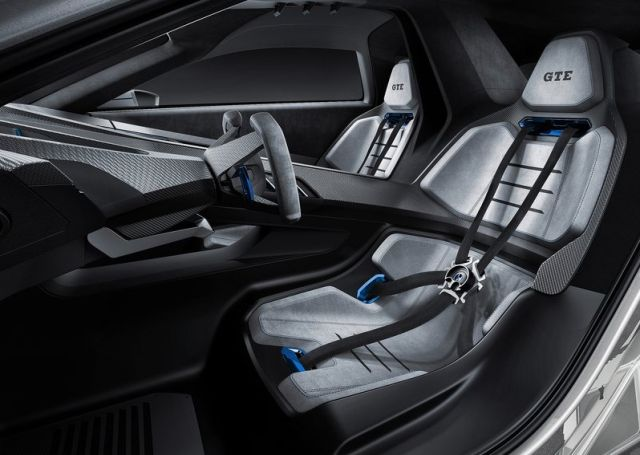 VW GOLF GTE Concept