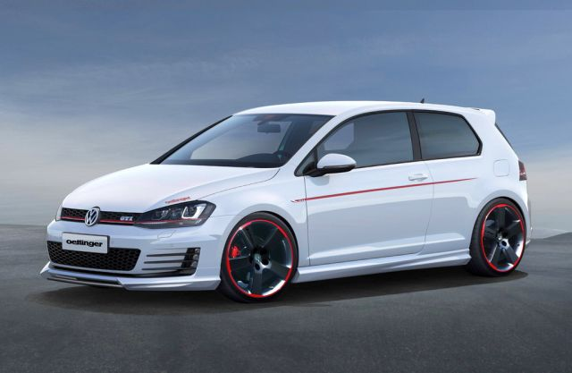 2014 VW GOLF GTI VII Tuned by Oettinger