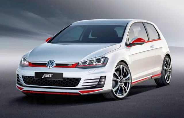 VW GOLF VII GTI tuned by ABT