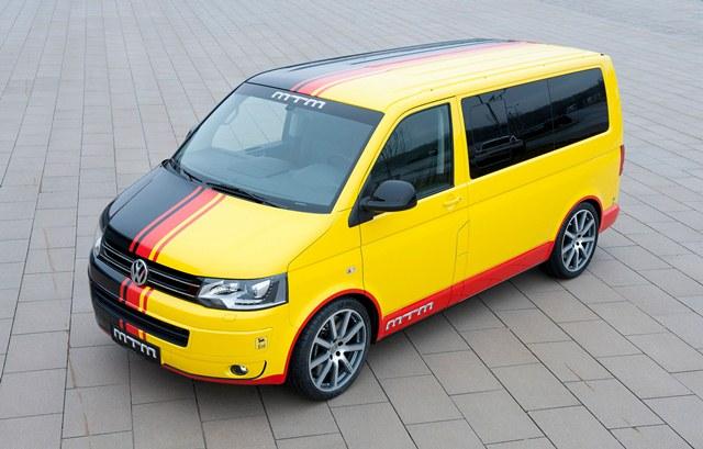 2013 VW MULTIVAN Tuned by MTM T500 473hp
