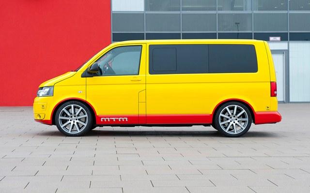 VW MULTIVAN T5 tuned by MTM T500 473 hp