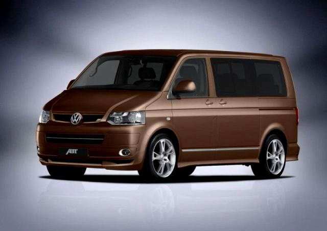 VW T5 Multivan ABT Tuned front pic 1 VW T5 Multivan Tuning by ABT