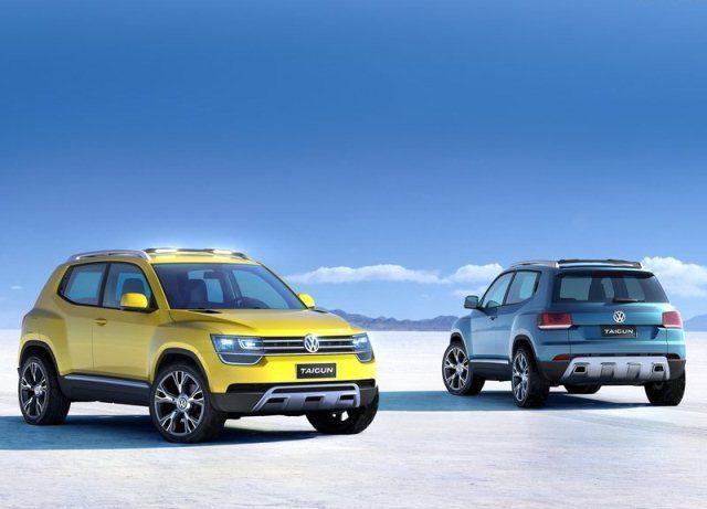 VW CROSSOVER - Taigun Concept
