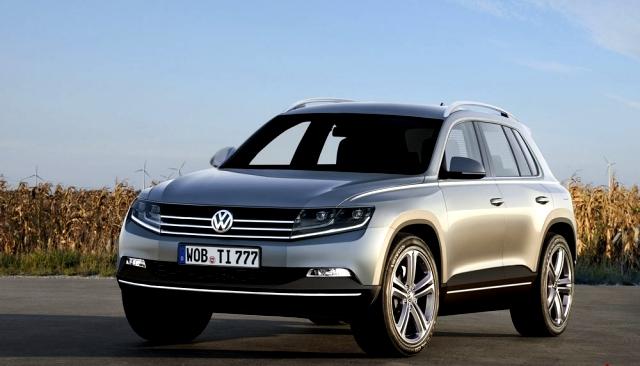 Volkswagen Tiguan 2014 suv cross-over skoda audi cina russia