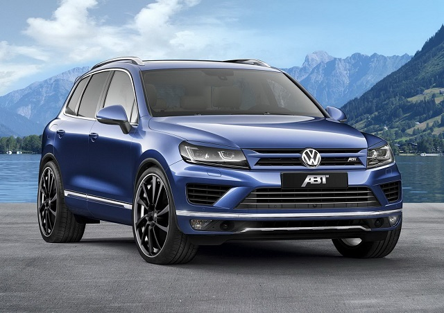 VW TOUAREG tuned by ABT