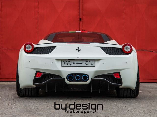 White FERRARI 458 tuned by BY DESIGN MOTORSPORT_pic-2