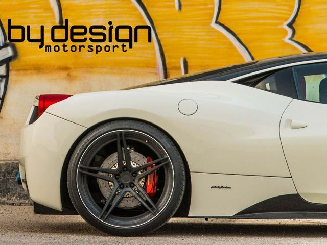 White FERRARI 458 tuned by BY DESIGN MOTORSPORT_pic-9