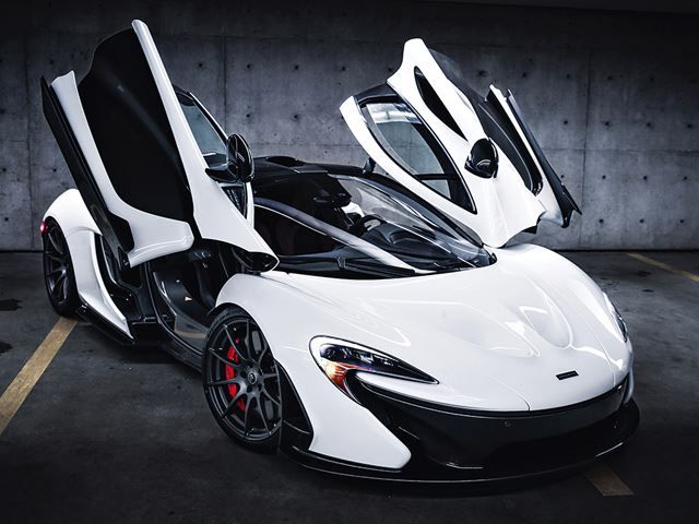 2015 Mclaren P1 Black Amp White