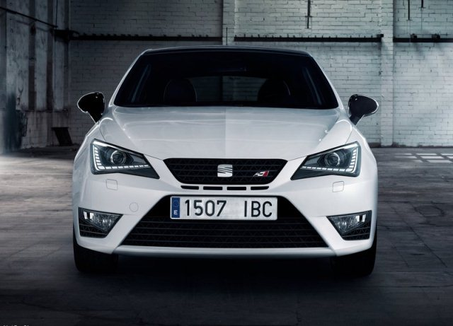 white seat ibiza cupra 2014 front pic 4 oopscars. Black Bedroom Furniture Sets. Home Design Ideas