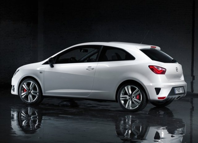 2013 Seat Ibiza Cupra White